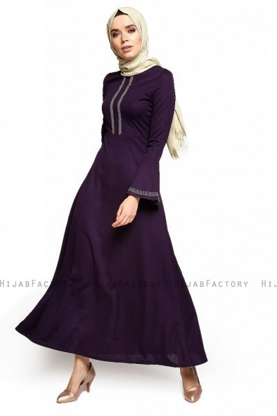 Deste - Robe Violet - Miss Halima