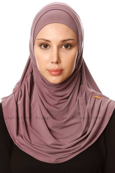 Esma - Hijab Amira Grape Soda - Firdevs